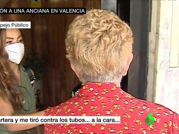 """Habla la anciana agredida en su portal en Valencia: """"Me robó la cartera, me tiró y empecé a sangrar"""""""