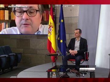 Vídeo manipulado - La inesperada pregunta infantil de Paco Marhuenda a Fernando Simón y Pedro Duque