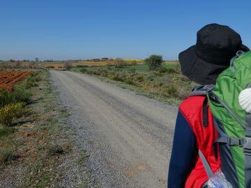 Peregrino camino de Santiago