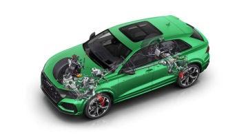 Audi publica nuevos avances en su integración entre sistema de propulsión y chasis