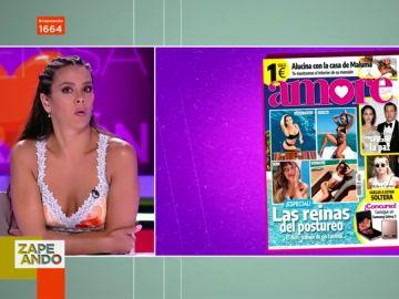 """La sorpresa de Cristina Pedroche al conocer en directo que aparece en la portada de una revista """"con un cambio radical"""""""