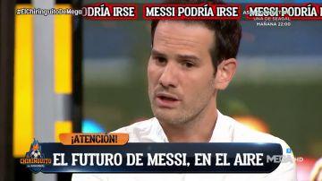 """Quim Domênech, en 'El Chiringuito': """"Messi está con un calentón tremendo"""""""