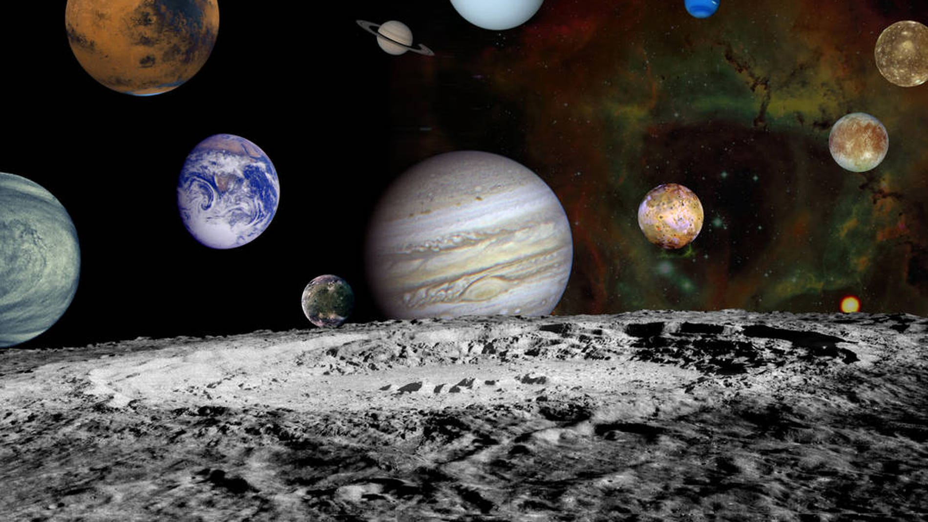 Otros planetas y lunas del sistema solar todavía han sido poco explorados