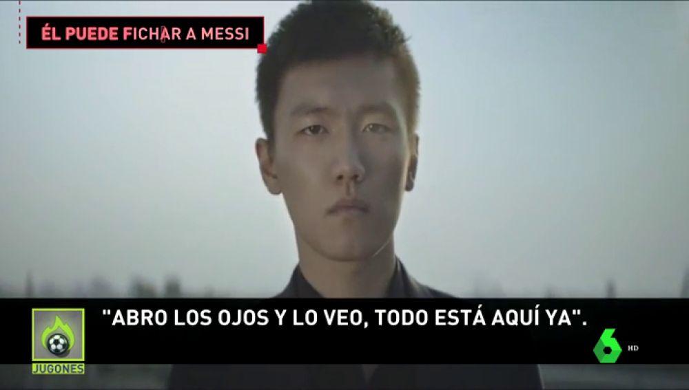 Steven Zhang, el joven multimillonario que puede llevar a Messi al Inter de Milán