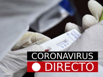 Imagen de un test de coronavirus