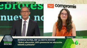 """Mónica Oltra: """"En vez de criticar, el PP tiene que pedir a sus dirigentes autonómicos que se pongan las pilas"""""""
