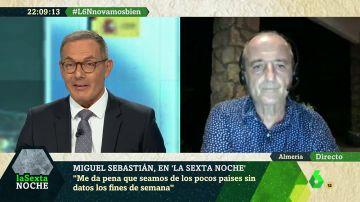 """Miguel Sebastián: """"En Madrid podemos tener un problema serio si (los contagios) no se atajan con contundencia"""""""