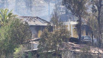 El incendio forestal que afecta a la isla de La Palma