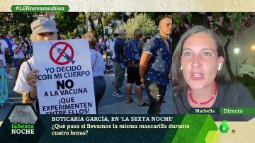 """Boticaria García advierte de que """"una persona que ha pasado el coronavirus puede volver a contagiar"""""""