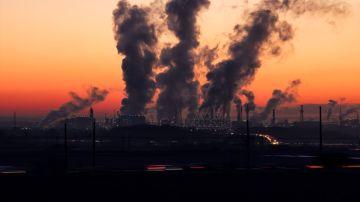Imagen de archivo de contaminación