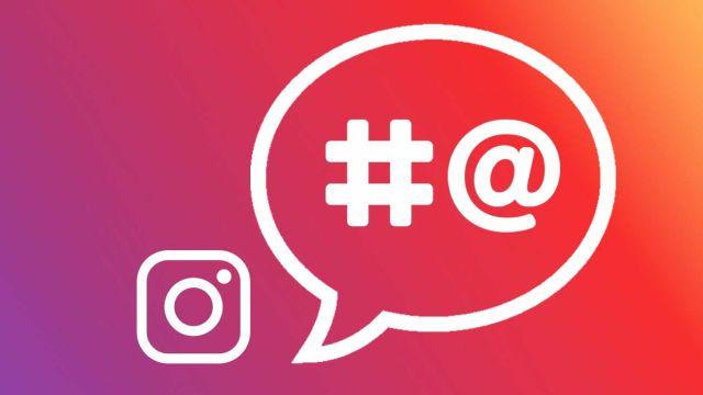 desactiva menciones y etiquetas de Instagram