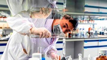 Imagen de archivo de un laboratorio