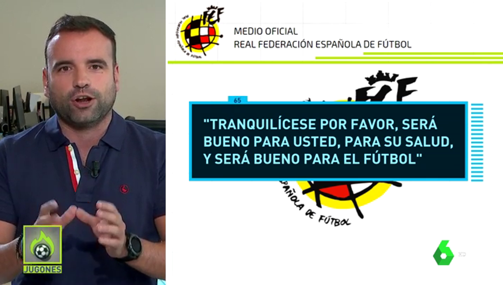 """La RFEF no aprueba el calendario de LaLiga y pide """"calma"""" a Javier Tebas"""