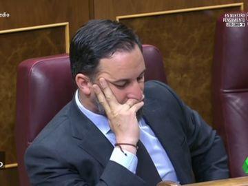Vídeo manipulado - Las imágenes de Santiago Abascal cantando pasadobles en el Congreso
