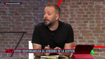 El periodista Antonio Maestre