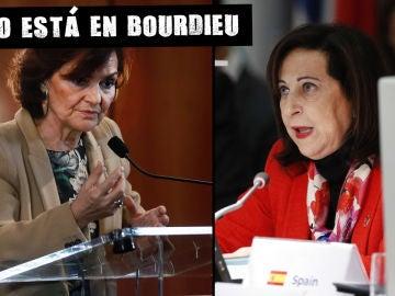 Carmen Calvo y Margarita Robles