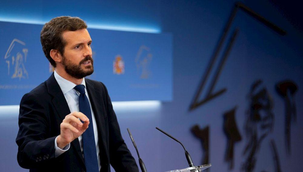 Pablo Casado, líder de la oposición