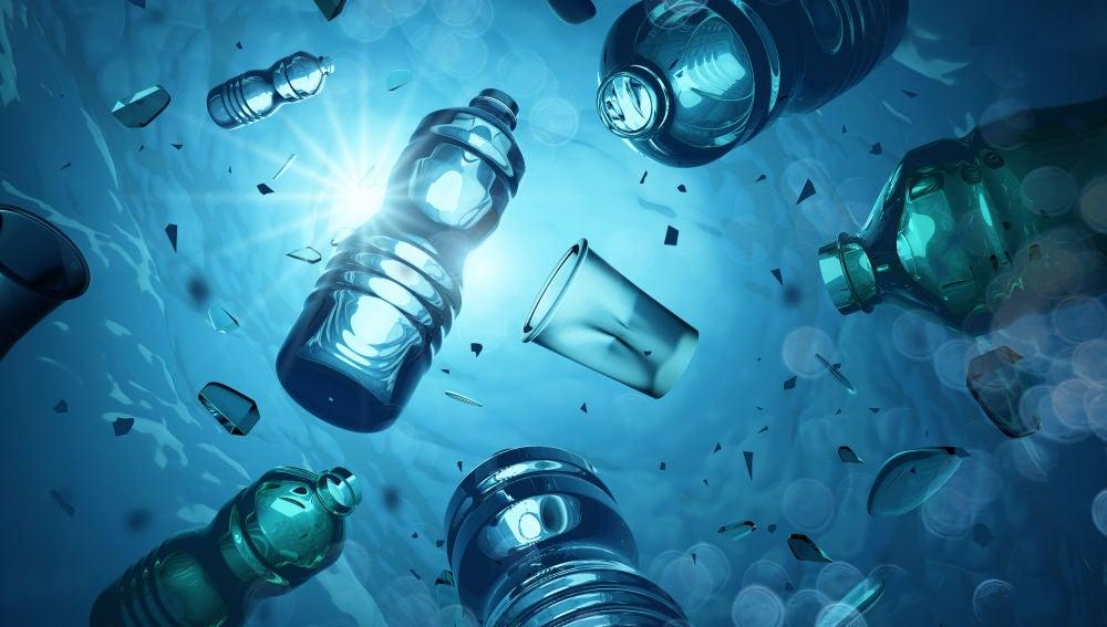 Plásticos océano