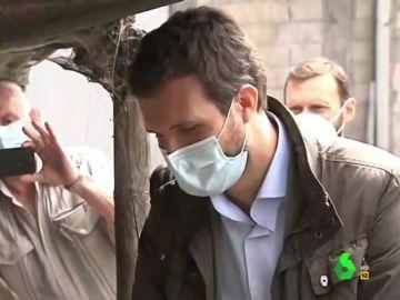Vídeo manipulado - Pablo Casado aumenta la familia: el líder del PP conoce a su nuevo 'hijo'