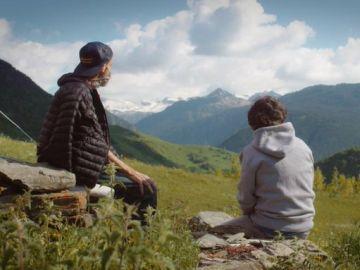 Pau Donés y Jordi Évole en 'Eso que tú me das'