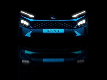 Hyundai nos ha mostrado el nuevo frontal del Kona
