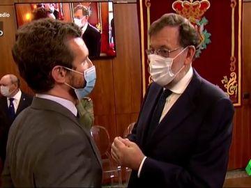 """Vídeo manipulado - Así 'cuenta' Mariano Rajoy con su """"amigo"""" Pablo Casado"""