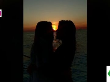 """El """"momento de amor desatado"""" de Dulceida y Alba: así es el vídeo más empalagoso de Instagram"""