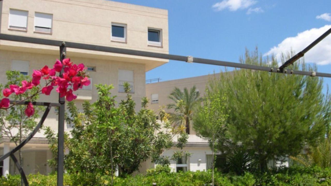 Exterior de la residencia en la que se grabaron las imágenes, en Llíria (Valencia)