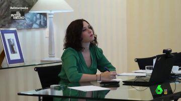 Vídeo manipulado - Dibujar monigotes: esto es lo que hace Díaz Ayuso durante la reunión del Gobierno con las CCAA