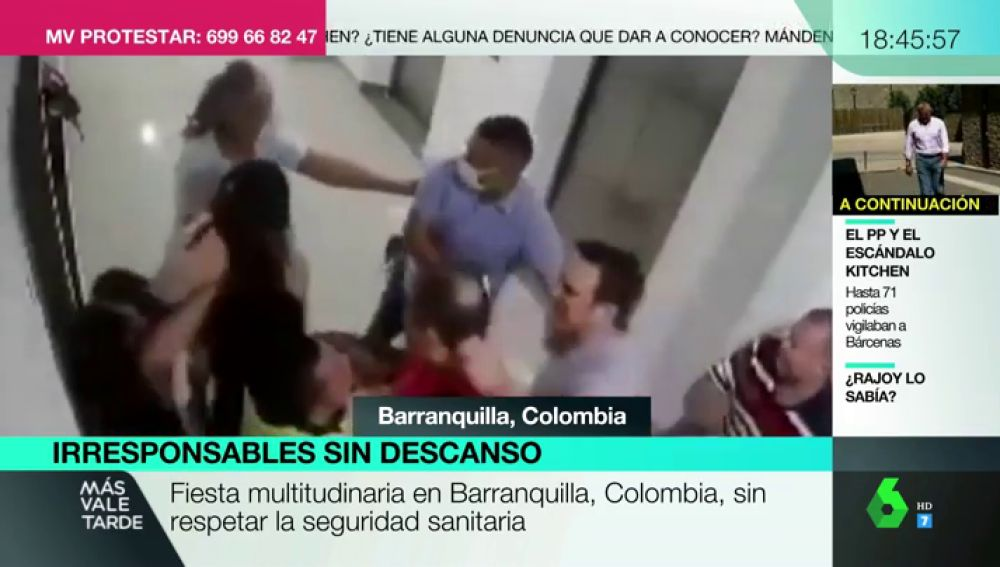 Agreden a puñetazos a dos mujeres por quejarse de una multitudinaria fiesta ilegal que no respetaba las medidas de seguridad