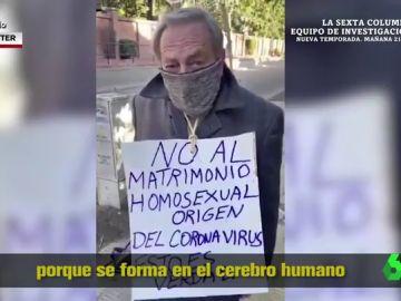 El homófobo motivo de un hombre sobre el origen del coronavirus