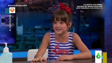 La naturalidad de la pequeña Luna Fulgencio en su entrevista con Pablo Motos
