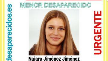 Naiara Jiménez, desaparecida