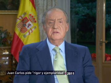 """Cuando el rey Juan Carlos hablaba de ejemplaridad en plena crisis mientras tenía """"una máquina para contar billetes en Zarzuela"""""""