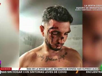 Omar Montes, en el videoclip 'No puedo amar'