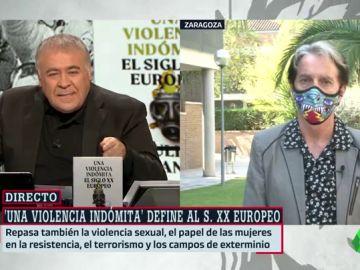 """Julián Casanova, autor de 'Una violencia indómita': """"El capitalismo ha cruzado el Pacífico. Europa no será el futuro foco de violencia""""."""