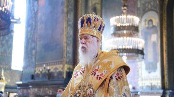 El patriarca de la iglesia ucraniana, Mykhailo Denysenko