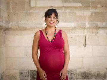 Imagen de archivo de Teresa Rodríguez embarazada