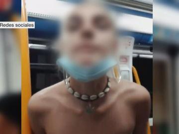 Una de las menores de la agresión racista en el Metro de Madrid