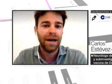 """Carlos Estévez, investigador español de la vacuna de Oxford: """"Los resultados están previstos para finales de 2021"""""""