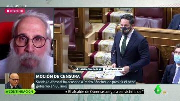 """Agustín Zamarrón (PSOE), sobre Abascal: """"Es un franquista"""""""
