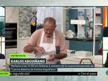 """Karlos Arguiñano cuenta los secretos para hacer una tortilla francesa """"diez"""""""