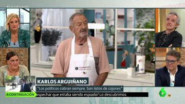Karlos Arguiñano en Liarla Pardo
