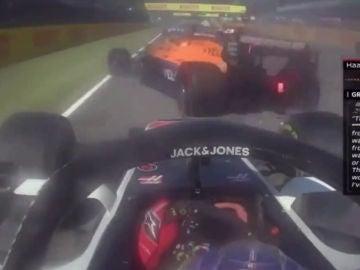 Romain Grosjean evita a Sainz en Mugello