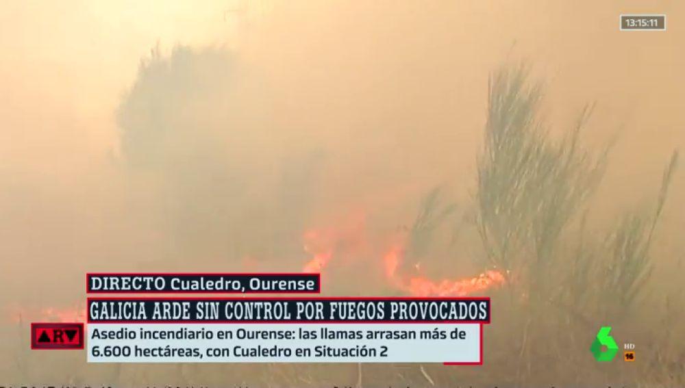 REEMPLAZO - Galicia arde con varios incendios que han calcinado más de 6.700 hectáreas