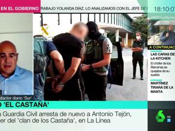 Detenido el líder del clan de narcotráfico 'Los Castaña' en La Línea