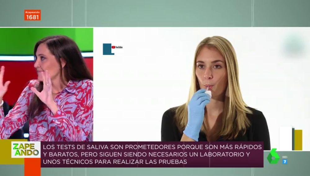 Test saliva: así son las pruebas rápidas para detectar el coronavirus que competirán con los test PCR