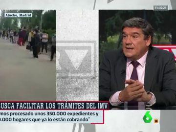 """Escrivá responde a Iglesias tras pedirle que """"corra"""" con el IMV: """"Hemos procesado 350.000 expedientes, es algo extraordinario"""""""
