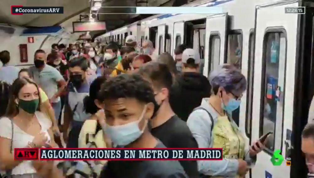 AGLOMERACIONES METRO DE MADRID