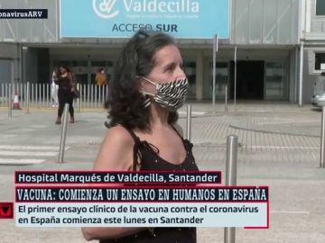 """Habla una voluntaria del ensayo español contra el coronavirus: """"Tenemos miedo, no sabemos cómo vamos a reaccionar"""""""